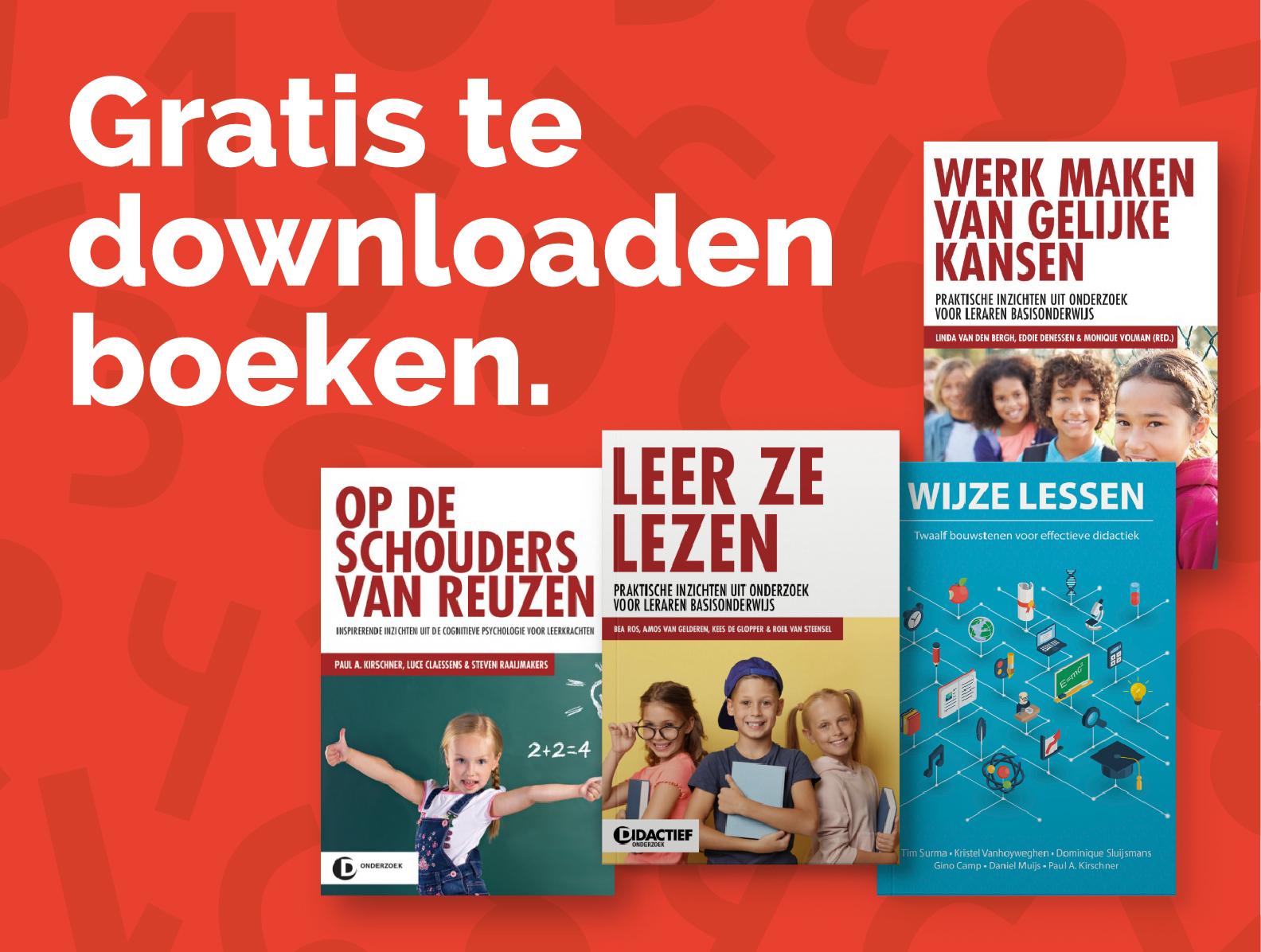 Boeken gratis downloaden