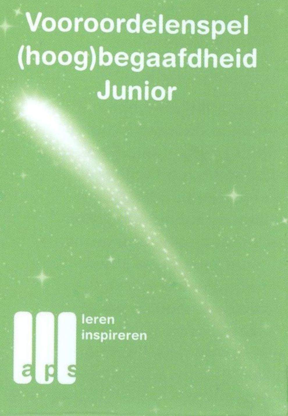 Vooroordelenspel (hoog)begaafdheid (junior)
