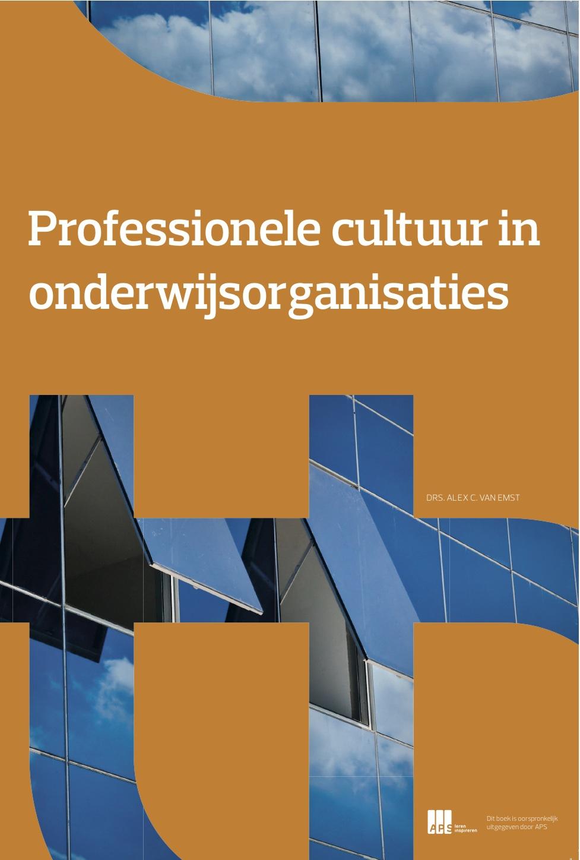 Professionele cultuur in onderwijsorganisaties